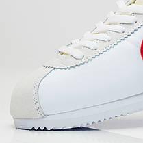 Кроссовки Nike Classic Cortez Nylon (Белые), фото 3