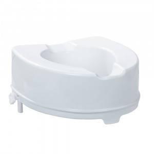 """Насадка на унитаз, Туалетное сиденье высокое, 15 см, после операции, для инвалидов """"King"""" (Италия)"""