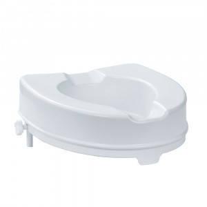 """Насадка на унитаз, Туалетное сиденье низкое, 10 см, после операции, для инвалидов """"King"""" (Италия)"""