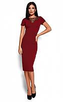 Облягаюче класичне плаття Valia 4