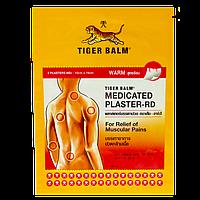 Тигровый согревающий красный пластырь Tiger Balm Medicated Plaster-RD