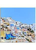 Фотокартина на холсте Греция, 60*60 см