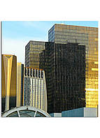 Фотокартина на холсте Зеркальные дома, 60*60 см