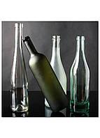 Фотокартина на холсте Натюрморт из бутылок, 60*60 см