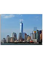 Фотокартина на холсте Нью-Йорк высотки, 60*80 см