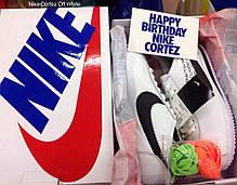 Кроссовки Nike Cortez x Off White (Белые), фото 3