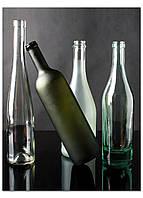 Фотокартина на холсте Натюрморт из бутылок, 60*80 см