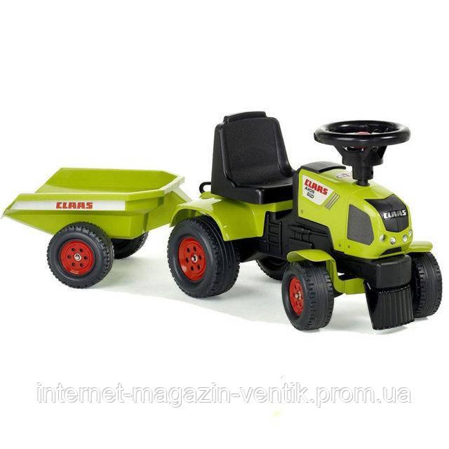Трактор с прицепом Claas Axos