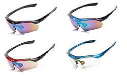 Спортивные очки с 5 сменными линзами, поляризация