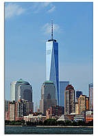 Фотокартина на холсте Нью-Йорк высотки, 60*90 см