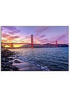 Фотокартина на холсте Мост Золотые Ворота, 60*90 см