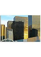 Фотокартина на холсте Зеркальные дома, 60*90 см