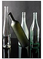 Фотокартина на холсте Натюрморт из бутылок, 60*90 см
