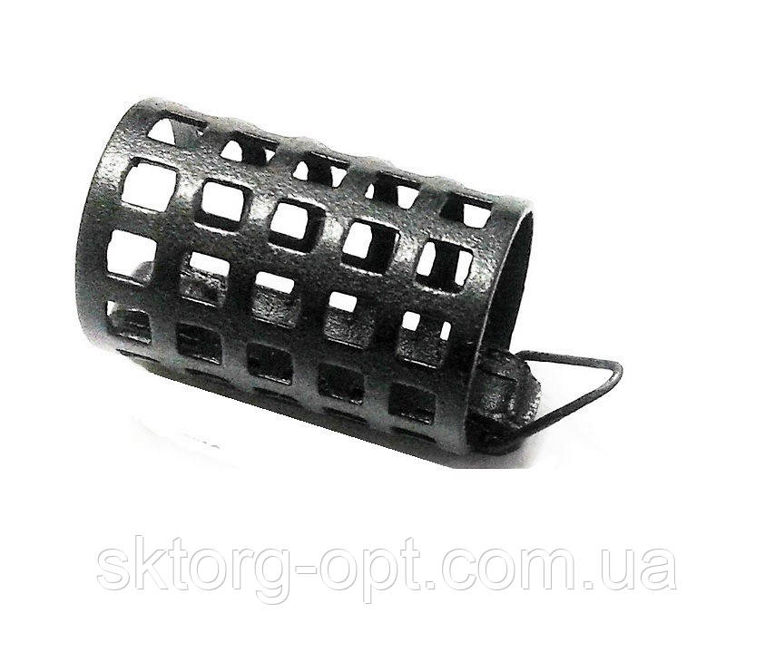 Кормушка фидерная металл круглая 25 гр. штамп КШ-25