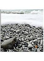 Фотокартина на холсте Морская пена, 70*70 см