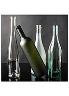 Фотокартина на холсте Натюрморт из бутылок, 70*70 см