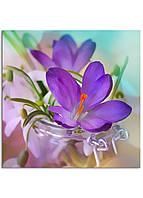 Фотокартина на холсте Скоро весна, 70*70 см