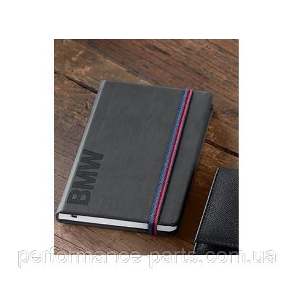 Блокнот BMW Wordmark Notebook, Space Grey, 80242411117