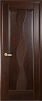 Дверное полотно Волна ПГ Каштан