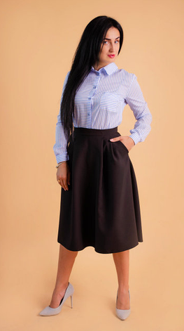 Прекрасная и модная юбка миди, фото 2