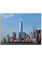 Фотокартина на холсте Нью-Йорк высотки, 70*90 см