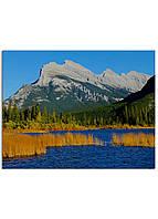 Фотокартина на холсте Горы Канада, 70*90 см