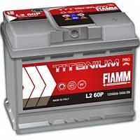 Автомобильный аккумулятор FIAMM TITANIUM PRO 6СТ- 60Аз 540А R