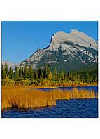 Фотокартина на холсте Горы Канада, 80*80 см