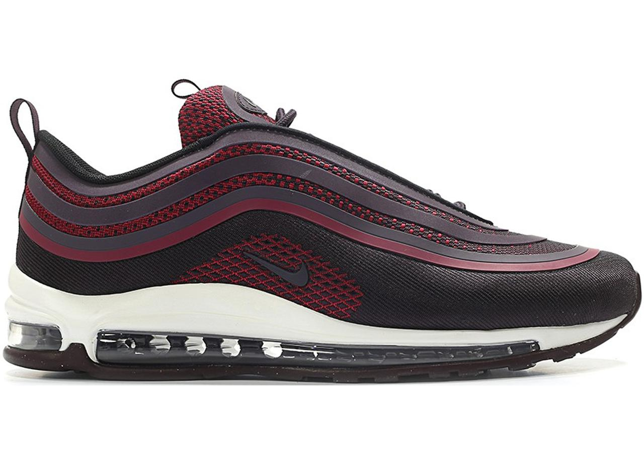 "Кросівки Nike Air Max 97 Ultra 17 ""Noble Red"" (Бордові)"
