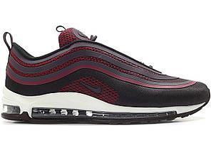 "Кросівки Nike Air Max 97 Ultra 17 ""Noble Red"" (Бордові), фото 2"