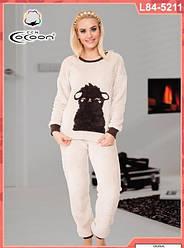 Пижама женская 80 % хлопка CCN L84-5211