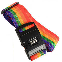 Ремень для багажа CJSJ R8284, радуга