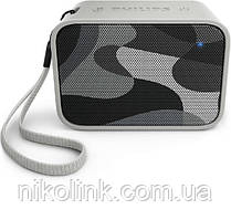 Портативная Bluetooth-колонка Philips BT110C, gray camo