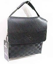 Мужская  сумка размер 20 х 22 см цвет черный