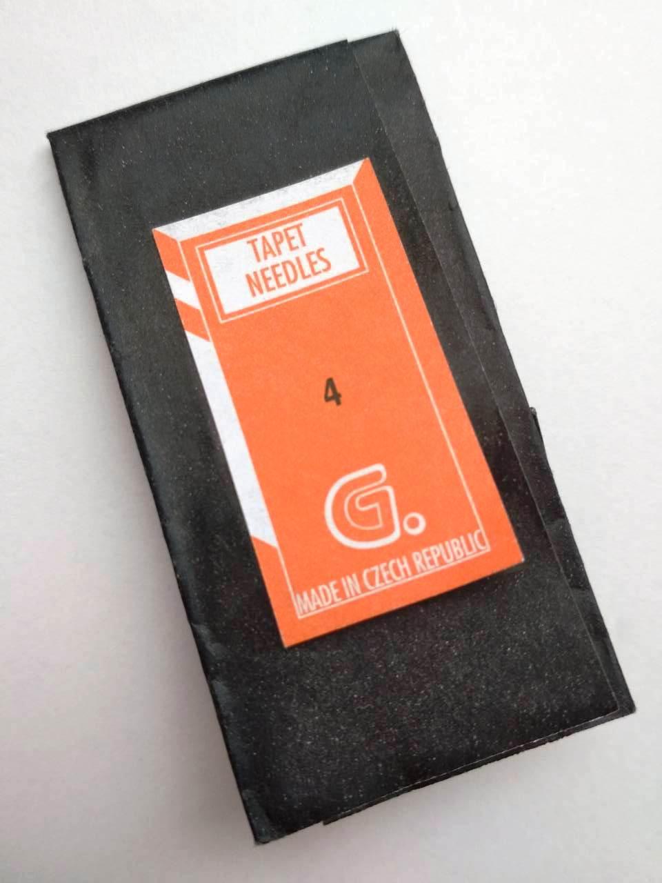 Иглы для вышивания №4 острые концы, набор 25 шт