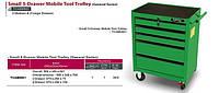 Тележка для инструмента  5 секций (под верстак) TOPTUL TCAB0501