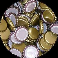 Пивная пробка металическая, золотая (UA)