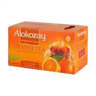 "Чай пакетований Alokozay чорний ""Апельсин"" 2g х 25"
