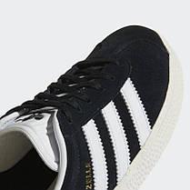 """ОРИГІНАЛ! Кросівки Adidas Gazelle 2 Junior """"Core Black"""" (Чорні/Білі), фото 3"""