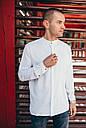 Рубашка мужская белая Linen Shirt (Лайнен Шёрт) от бренда Citizen размер S, M, L, XL, фото 3