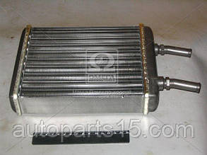 Радиатор отопителя ВОЛГА ГАЗ 2410 (алюм) (патр.d 16) (покупн. ГАЗ). 3102-8101060-10. Ціна з ПДВ.