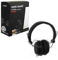 Наушники Sonic Sound E288 черного цвета