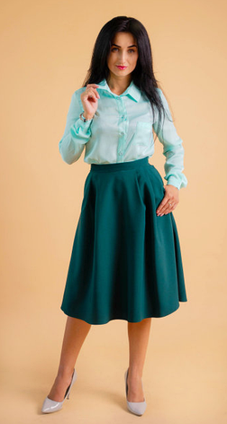 a00eef9901d Классическая женская рубашка