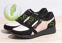 Кроссовки кожаные Dino Richi 316 пудр.36-40 размеры, фото 1