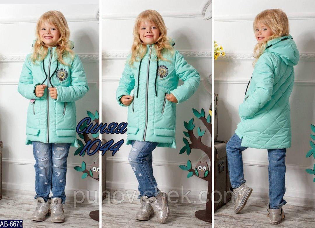 Демисезонные куртки для девочек модные Украина 17