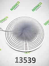 Меховой помпон Енот, Св. Серый, 9 см, 13539, фото 3