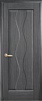 Дверное полотно Волна ПГ Серый (Grey)