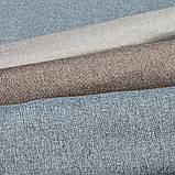 Мебельная рогожа ткань Поло сер, фото 4