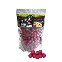 Бойлы растворимые Boilies C-Complex Soluble Fruit Mix (Фруктовый микс)