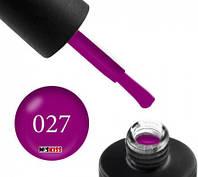 Гель лак Couture Colour 027 пурпурний 9 мл